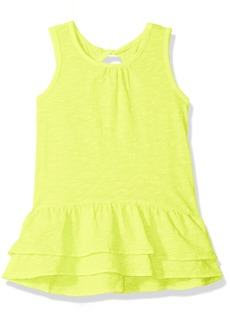 OshKosh Osh Kosh Girls' Kids Short Sleeve Knit Tunic Cold snap Yellow 4-5