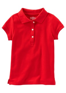 OshKosh Osh Kosh Girls' Short Sleeve Uniform Polo