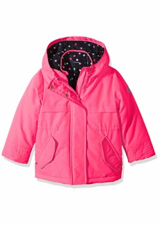 OshKosh Osh Kosh Girls' Toddler 4 in 1 Heavyweight Systems Jacket