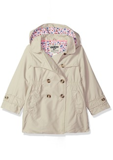 OshKosh Osh Kosh Girls' Toddler Hooded Trench Coat