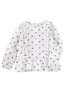OshKosh Osh Kosh Girls' Toddler Long Sleeve Fashion Top