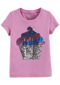 OshKosh Osh Kosh Girls' Toddler Sequin Tee