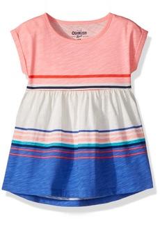 OshKosh Osh Kosh Girls' Toddler Short Sleeve Knit Tunic