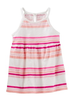 OshKosh Osh Kosh Girls' Toddler Short Sleeve Knit Tunic