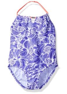 OshKosh Osh Kosh Little Girls' Bi-Color Fruit One Piece Swimsuit