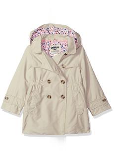 OshKosh Osh Kosh Little Girls' Hooded Trench Coat