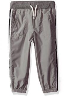 OshKosh Osh Kosh Boys' Toddler Classic Fit Matte Active Jogger Pant Gray-Cinched Leg