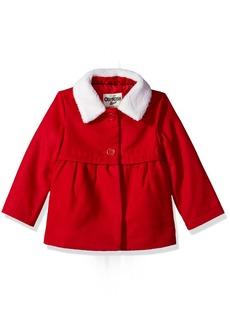 OshKosh Osh Kosh Toddler Girls' Sweet Faux Wool Jacket Dress Coat