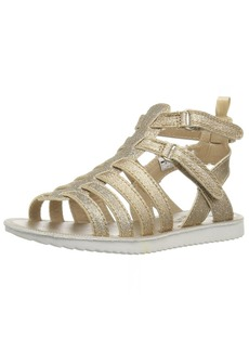 OshKosh B'Gosh Ellie Girl's Metallic Gladiator Sandal
