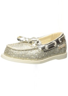OshKosh B'Gosh Georgie Girl's Glitter Boat Shoe