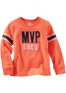 OshKosh B'Gosh Little Boys' Slogan Tee (Toddler/Kid) - MVP -