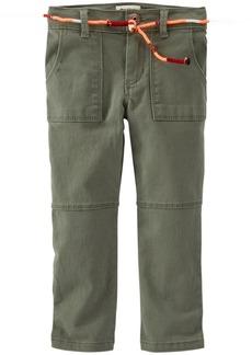 OshKosh B'Gosh Little Girls' Woven Pants (Toddler/Kid) -  -