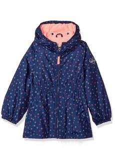 OshKosh B'Gosh Osh Kosh Toddler Girls' Fleece Lined Midweight Windbreaker Jacket