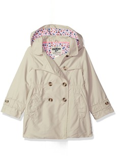 OshKosh B'Gosh Osh Kosh Toddler Girls' Hooded Trench Coat
