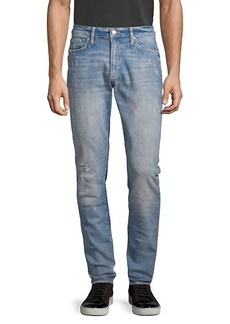 Ovadia & Sons 001 Distressed Skinny Jeans