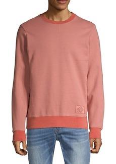 Ovadia & Sons Crewneck Cotton-Blend Sweatshirt