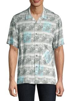 Ovadia & Sons Elvis Beach Shirt