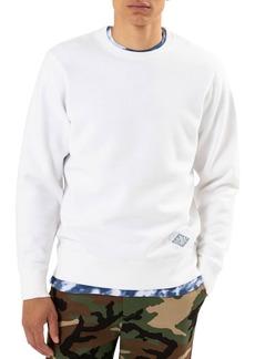 Ovadia & Sons Men's Distressed Crewneck Sweatshirt