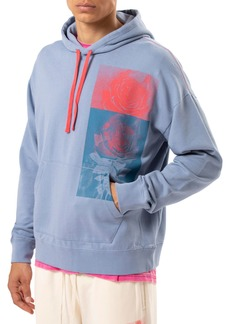 Ovadia & Sons Men's Rose-Print Pullover Hoodie