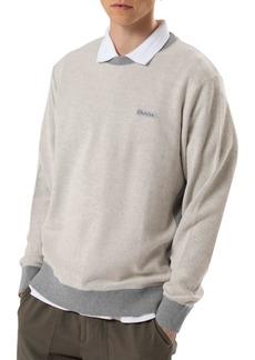 Ovadia & Sons Men's Crewneck Cotton Sweater