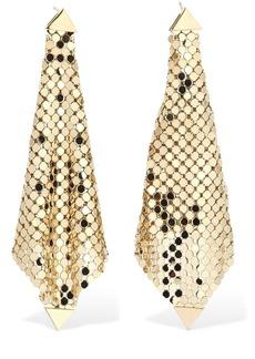 Paco Rabanne Chainmail Pendant Earrings