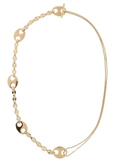 Paco Rabanne Eight Nano Mixed Chain-Link Necklace