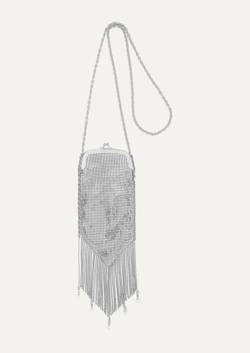 Paco Rabanne Fringed Chainmail Shoulder Bag