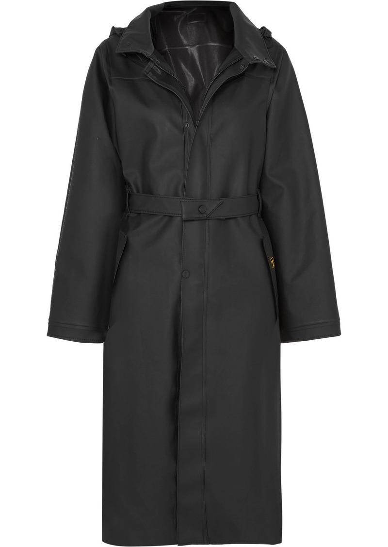 Paco Rabanne Guy Cotten Pvc-blend Trench Coat