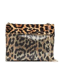 Paco Rabanne Leopard Pixel shoulder bag