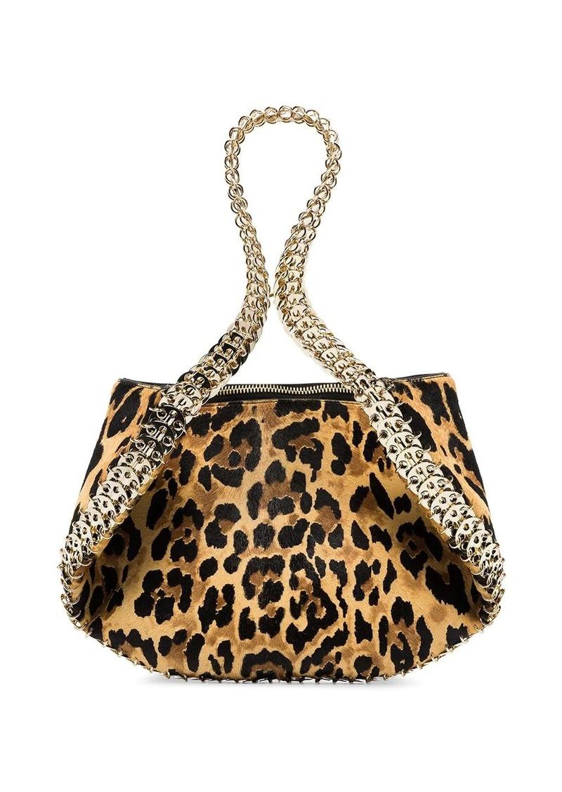 Paco Rabanne leopard-print shoulder bag