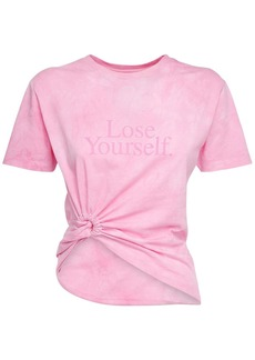 Paco Rabanne Lose Yourself Cotton Jersey T-shirt