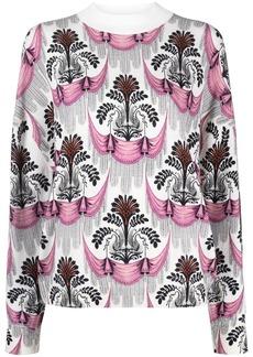 Paco Rabanne motif-print wool jumper