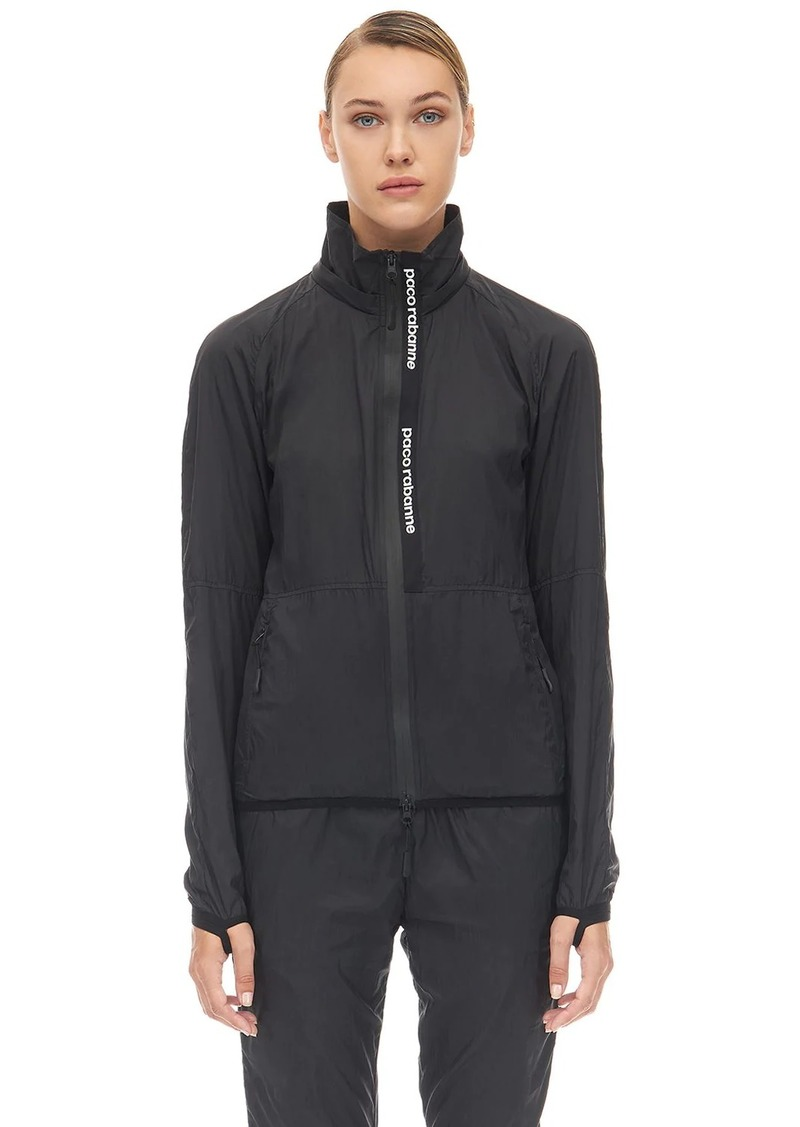 Paco Rabanne Nylon Windbreaker Jacket