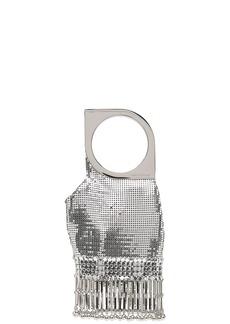 Paco Rabanne Op'Art chainmail clutch