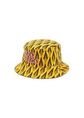 Paco Rabanne Ciao Paco geometric-print bucket hat