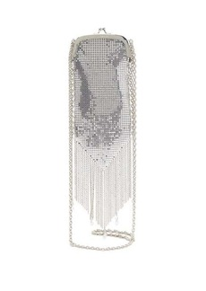 Paco Rabanne Fringed chainmail-mesh cross-body bag