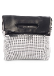 paco rabanne Mesh Foldover Clutch