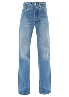 Paco Rabanne Pocket-accent flared-leg jeans