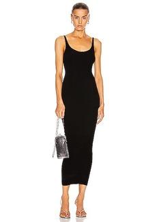 PACO RABANNE Rib Sleeveless Maxi Dress