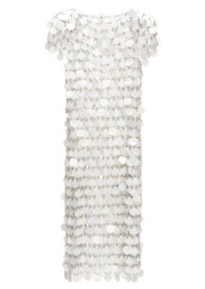 Paco Rabanne Sequinned chainmail dress
