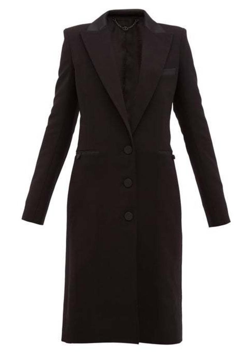 Paco Rabanne Single-breasted wool-blend coat