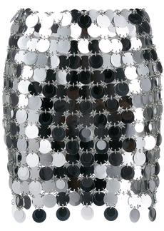 Paco Rabanne sequinned skirt