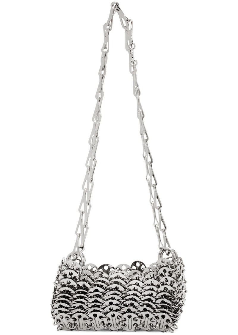 Paco Rabanne Silver Iconic 1969 Bag