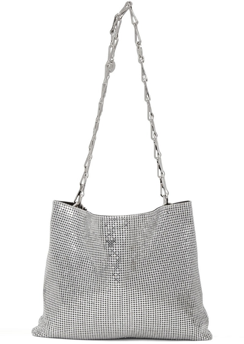 Paco Rabanne Silver Pixel 1969 Bag