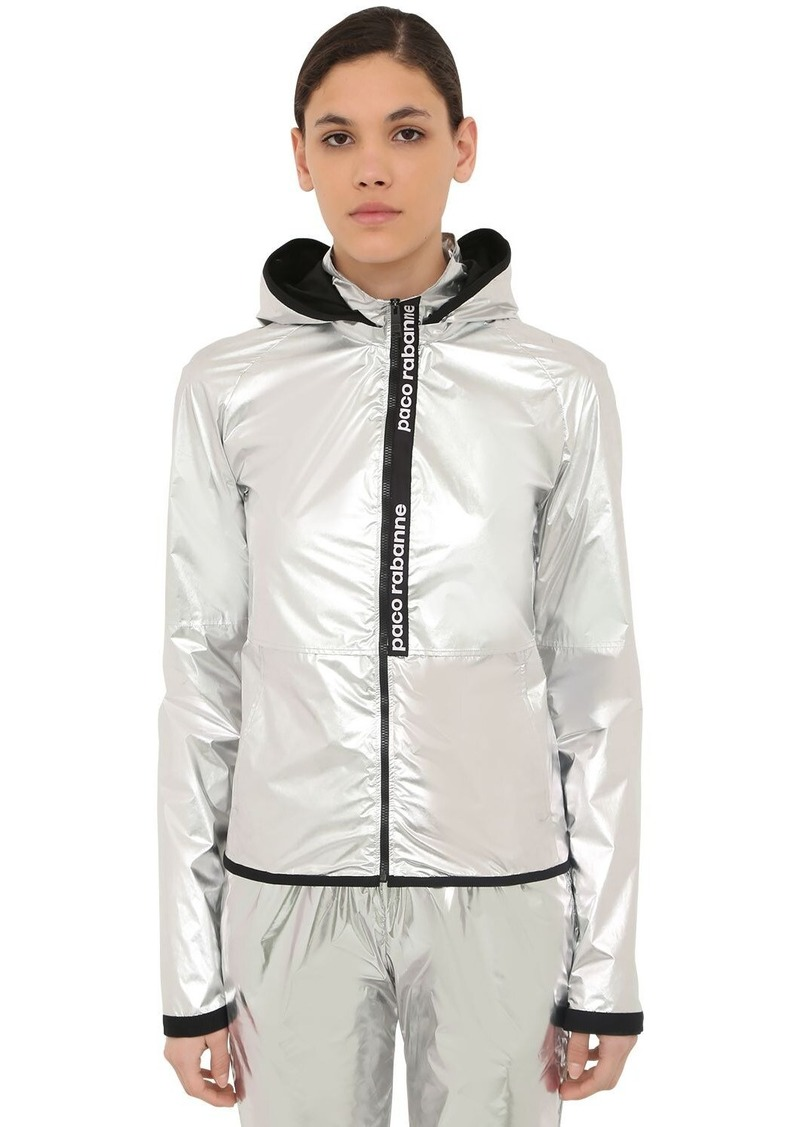 Paco Rabanne Waxed Windbreaker Jacket