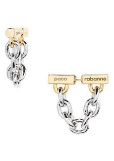 Women's Paco Rabanne Logo Front/back Earrings