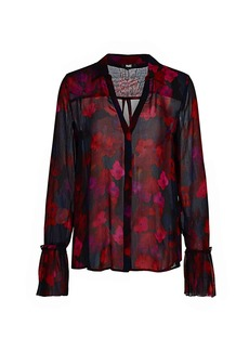 Paige Abriana Floral Blouse