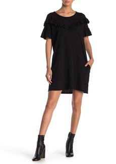 Paige Adalie Ruffle T-Shirt Dress