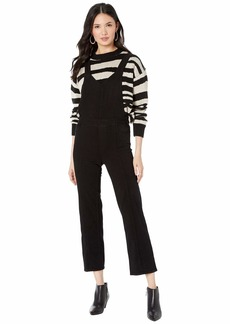 Paige Atley Ankle Flare Overall w/ Seaming