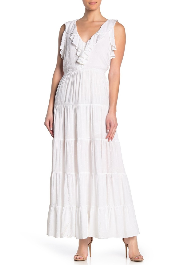 Paige Capella Ruffled Maxi Dress